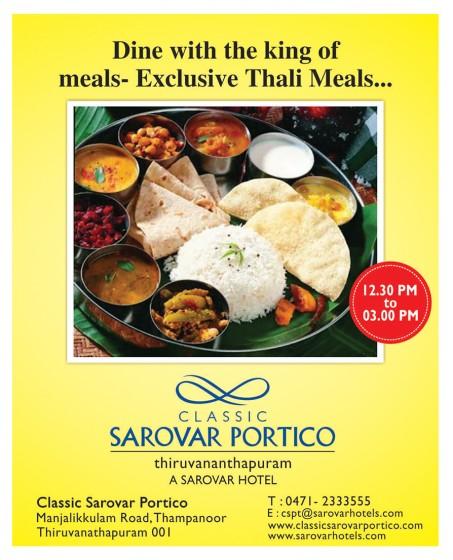 Exclusive Thali Meals